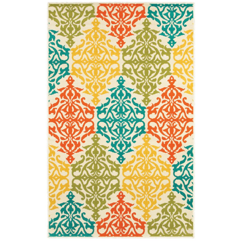 436-177 - Shaw Living™ Al Fresco Indoor/Outdoor Collection Sandee Woven Rug