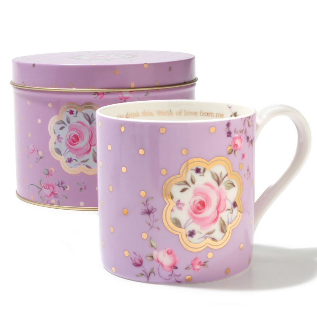 436-230 - Royal Albert® Bone China Seasonal Mug w/ Round Tin