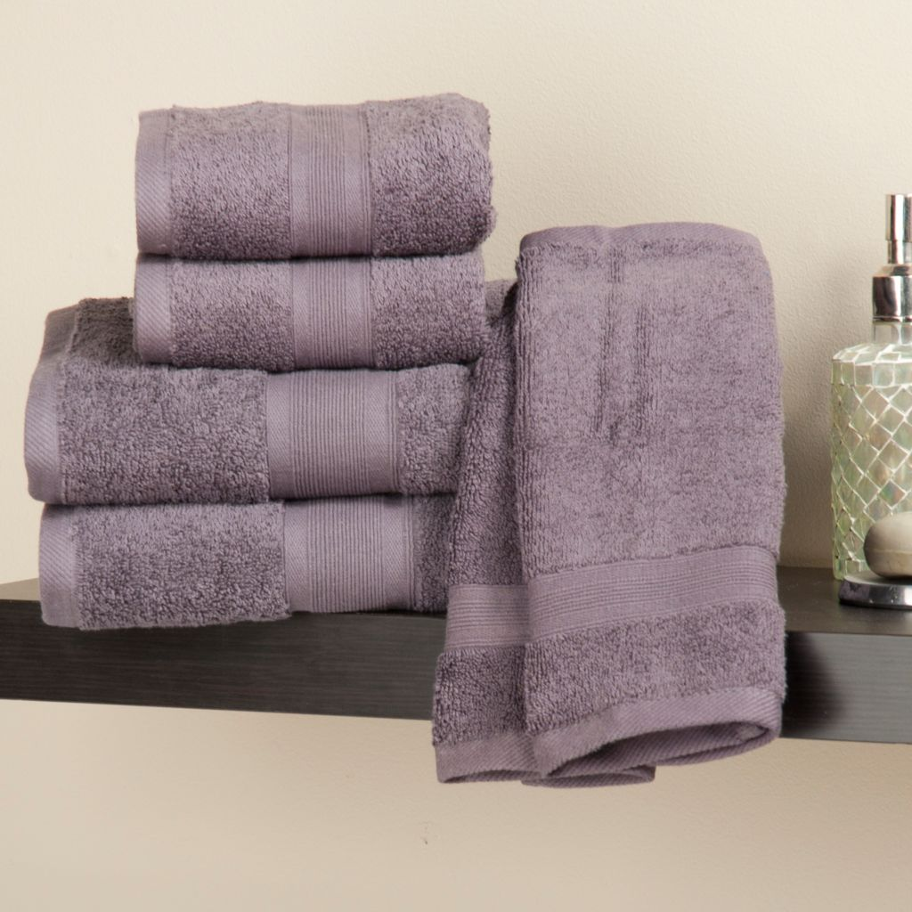 436-355 - Cozelle® 100% Cotton Six-Piece Towel Set