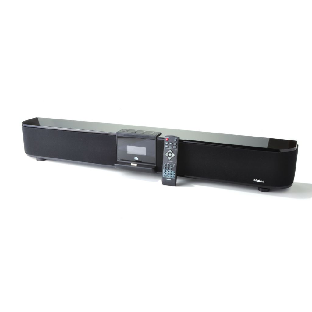 "436-411 - Haier® Evoke 40"" 5.1-Channel 230W Sound Bar w/ 3D Sound & Built-in Subwoofer"