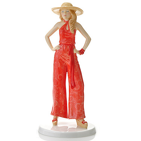 436-433 - Royal Doulton® Fashion of the Decades: 1970s ''Charlie'' 9.25'' Figurine -Signed