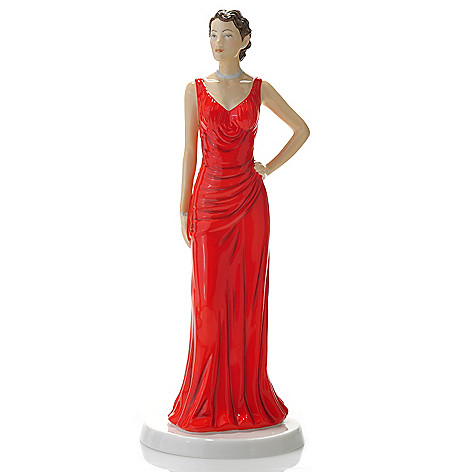 436-434 - Royal Doulton® Fashion of the Decades: 1930s ''Jean'' Bone China Figurine -Signed