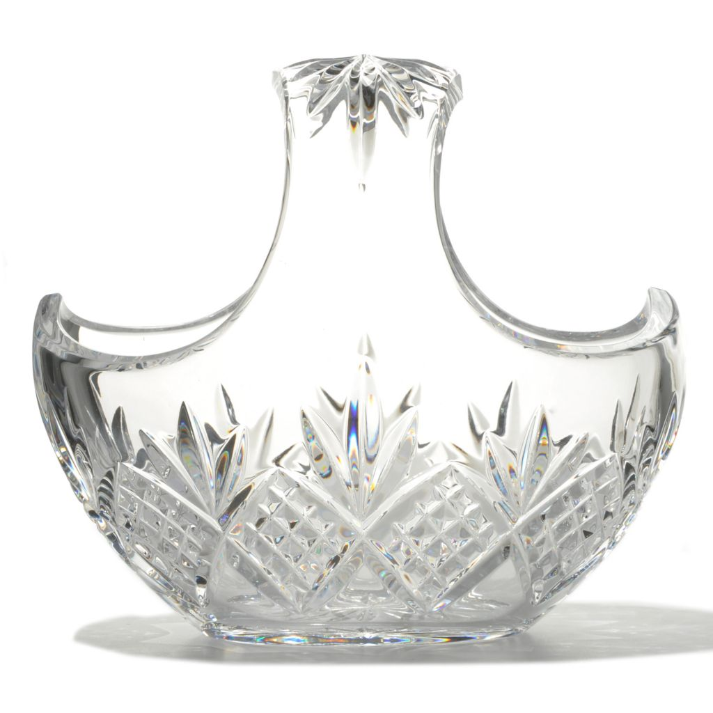 "436-442 - Waterford® Crystal Kelley 7.5"" Basket - Signed by Jorge Pérez"