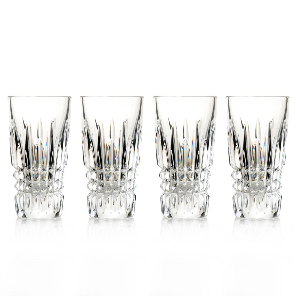 436-445 - Waterford® Crystal Lismore Diamond Set of Four 2 oz Shot Glasses