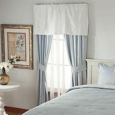 436-539 - Lenox® Embroidered Five-Piece Window Set for Grand Suites®