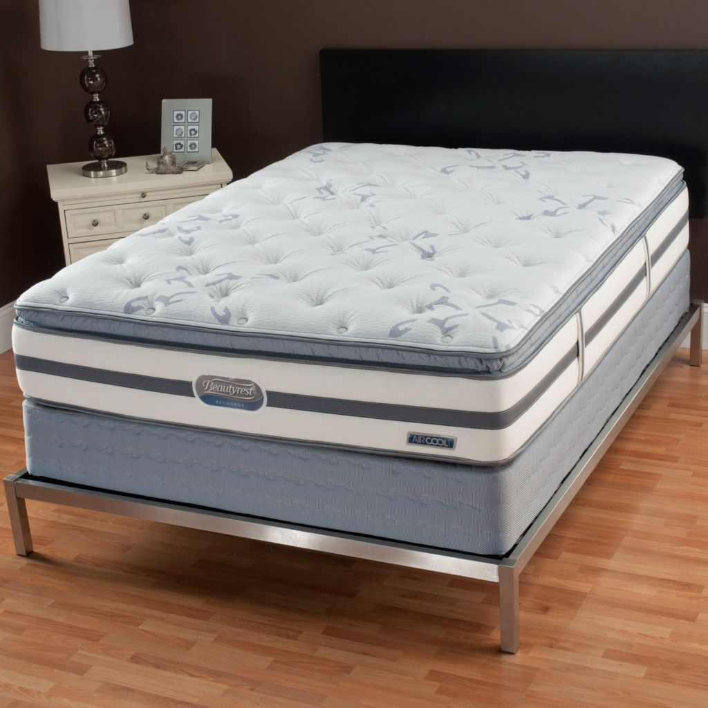 "436-575 - Simmons® Beautyrest® Recharge ""Ocean Avenue"" Pillowtop Mattress Set"