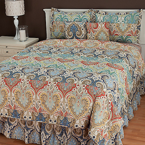 436-578 - North Shore Linens™ ''Giselle'' Six-Piece Bedding Ensemble