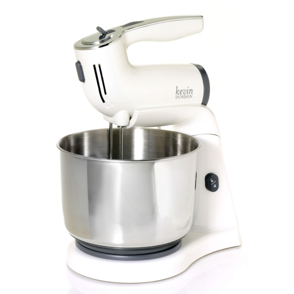 436-680 - Kevin Dundon Five-Piece 270W 3.5 qt Stainless Steel Hand/Stand Mixer