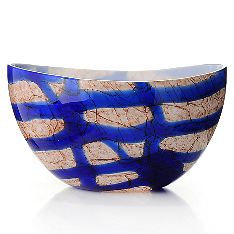 436-686 - Evolution by Waterford® Kenya Pocket 11.75'' Glass Bowl