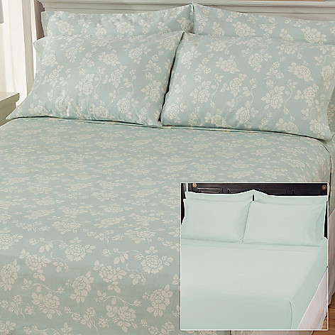 436-705 - North Shore Linens™ Six-Piece 850TC Egyptian Cotton SureSoft™ Sheet Set