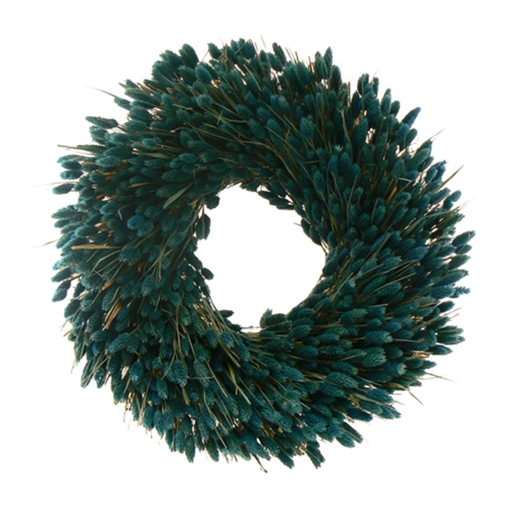 "436-749 - Christmas Tree Company Ocean Dreamin' 22"" Dried Floral Wreath"