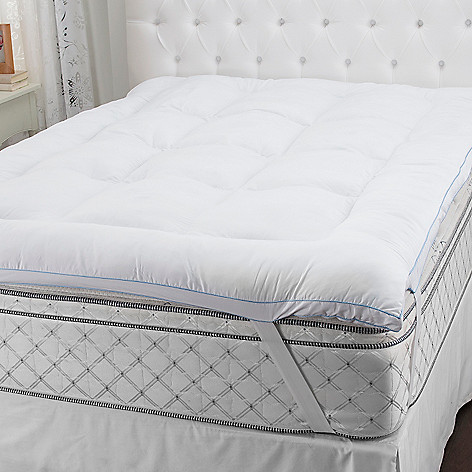 436-941 - SensorLOFT Microfiber Gel-Fiber & Memory Foam Mattress Topper