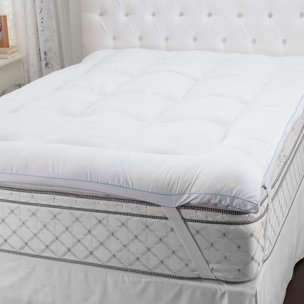 sensorpedic microfiber gelfiber u0026 memory foam mattress topper