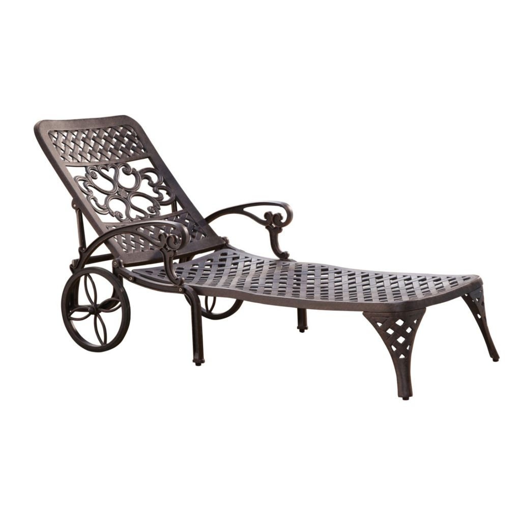 436-957 - Home Styles Biscayne Bronze Chaise Lounge Chair
