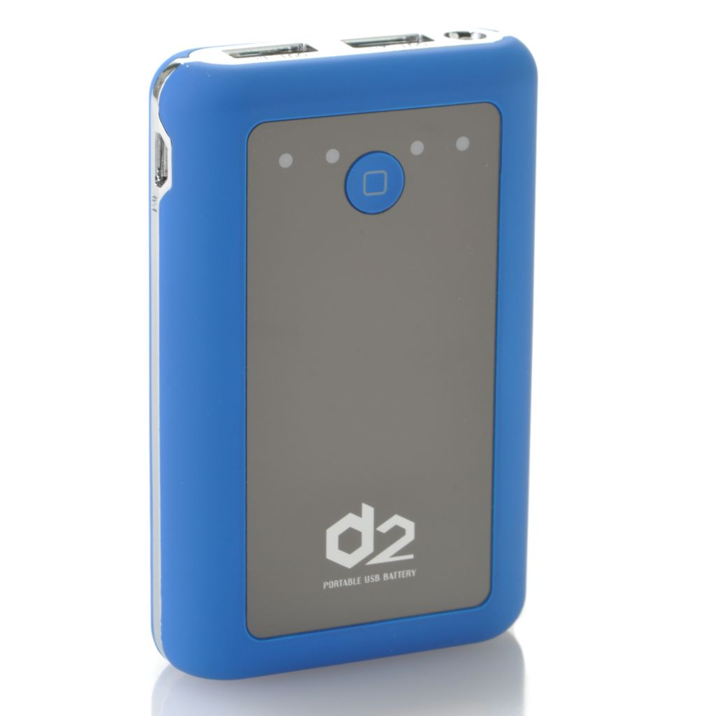436-994 - D2 8400mAh Dual-USB Portable Charger for Electronics & Cell Phones