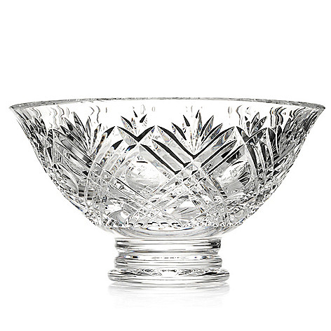 436-998 - House of Waterford® City 10'' Crystal Bowl - Signed by Tom Brennan