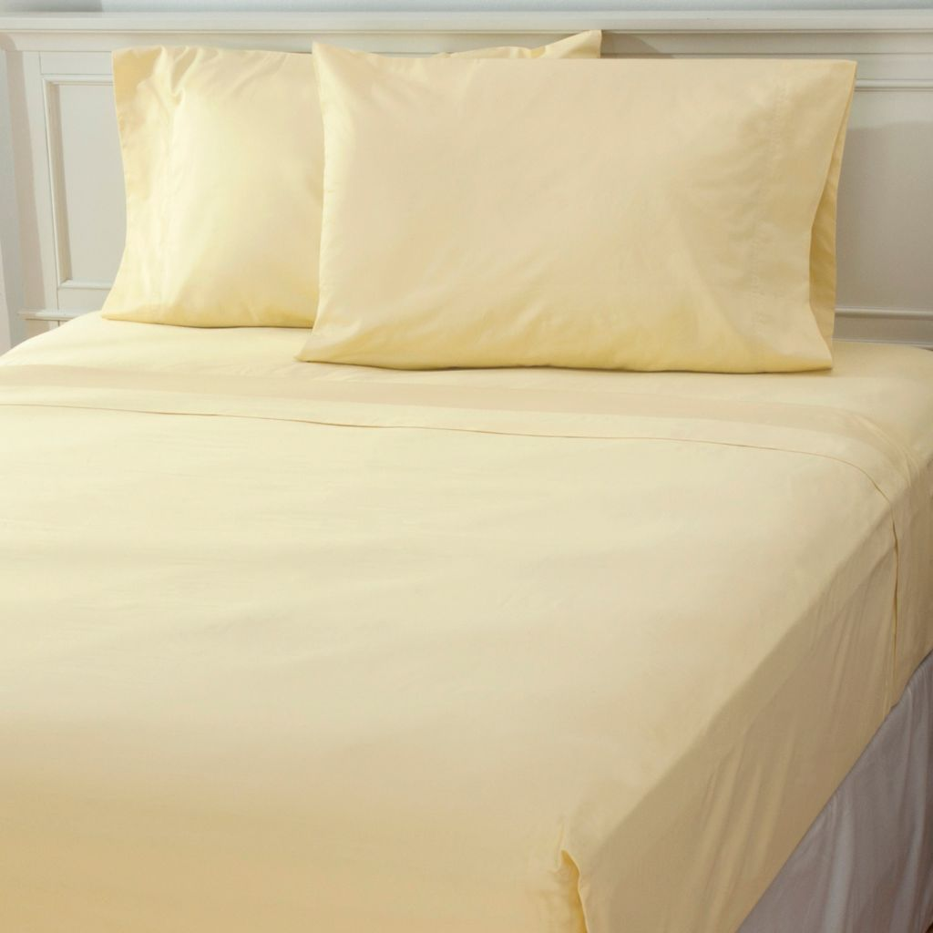 437-029 - 500TC Cotton Sateen Four-Piece Sheet Set