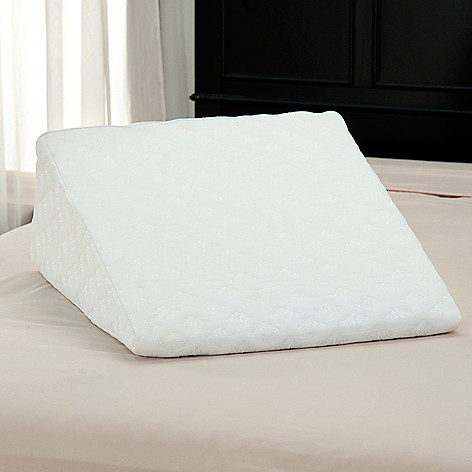 437-059 - Cozelle® Blue Gel Memory Foam Wedge Pillow