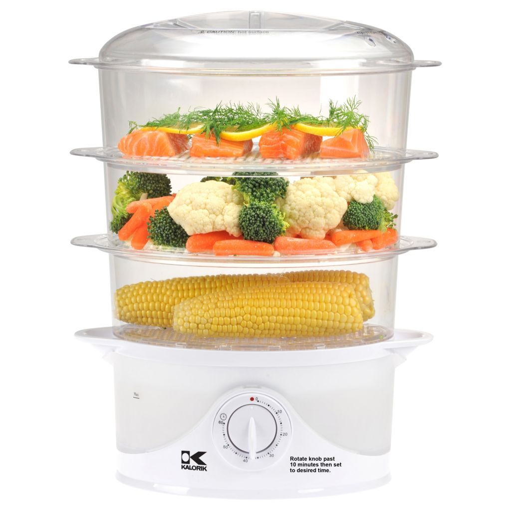437-099 - Kalorik® Three Tier Food Steamer