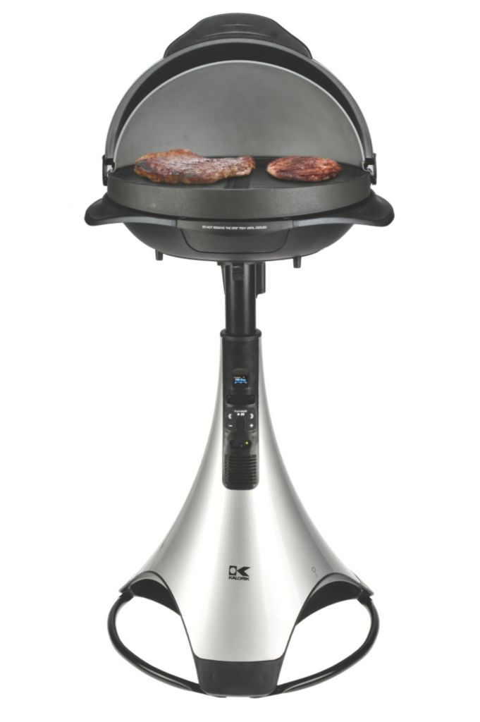 437-100 - Kalorik® Barbecue Grill w/  Radio & i-Pod Connection
