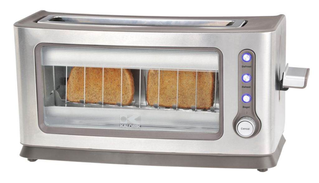 437-115 - Kalorik® Stainless Steel Glass Toaster