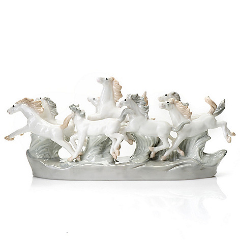 437-144 - Sorelle® ''Spirit of the Wild'' 4.5'' Porcelain Horses Figurine
