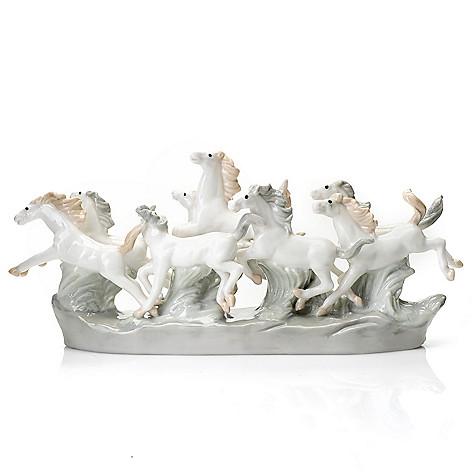 437-144 - Sorelle® ''Spirit of the Wild'' 4.5'' Porcelain Horses Figurine