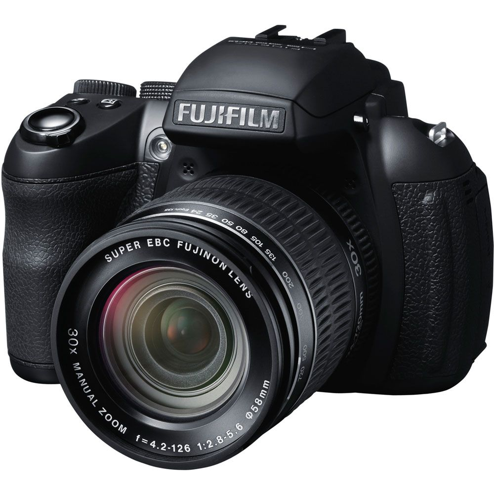 437-187 - Fujifilm FinePix 16MP CMOS Black Digital Camera