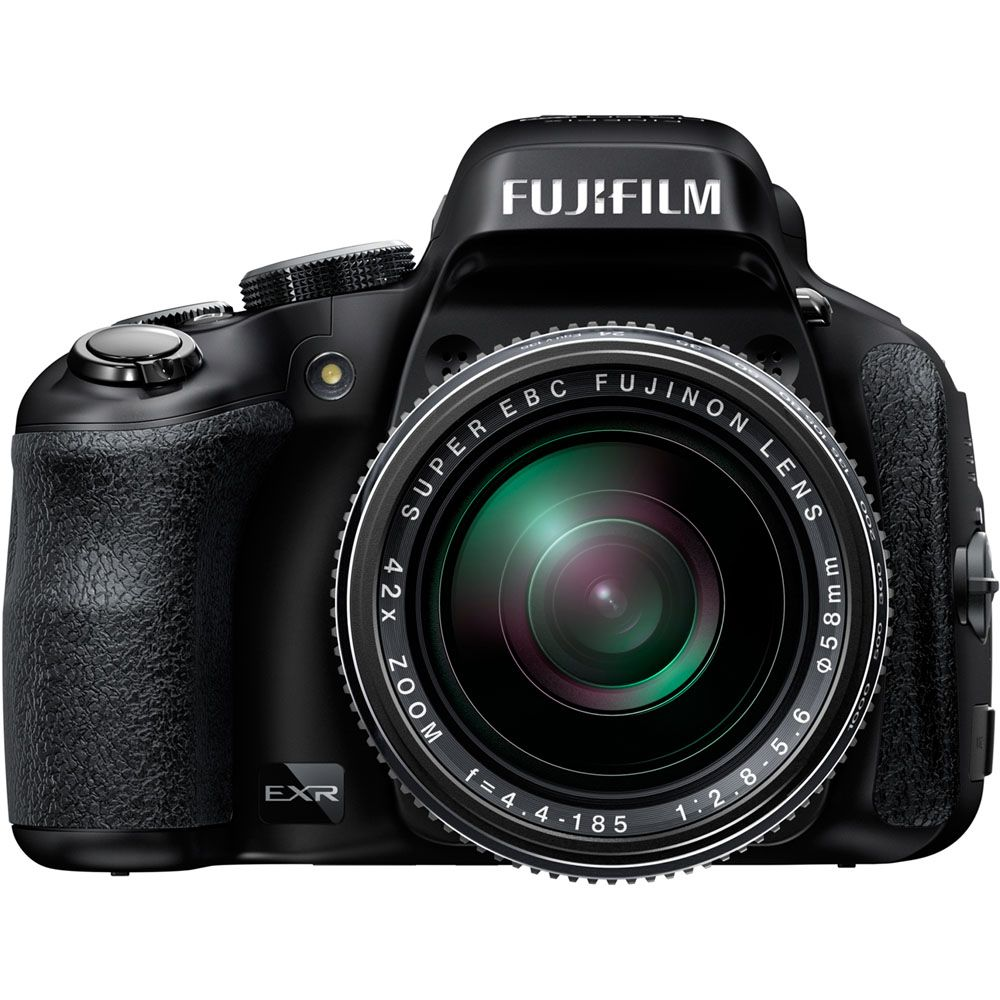 437-190 - Fujifilm FinePix 16MP CMOS II Black Digital Camera