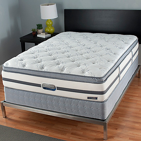 437-228 - Simmons® Beautyrest® Recharge® Ingleside Plush Pillowtop Mattress Set