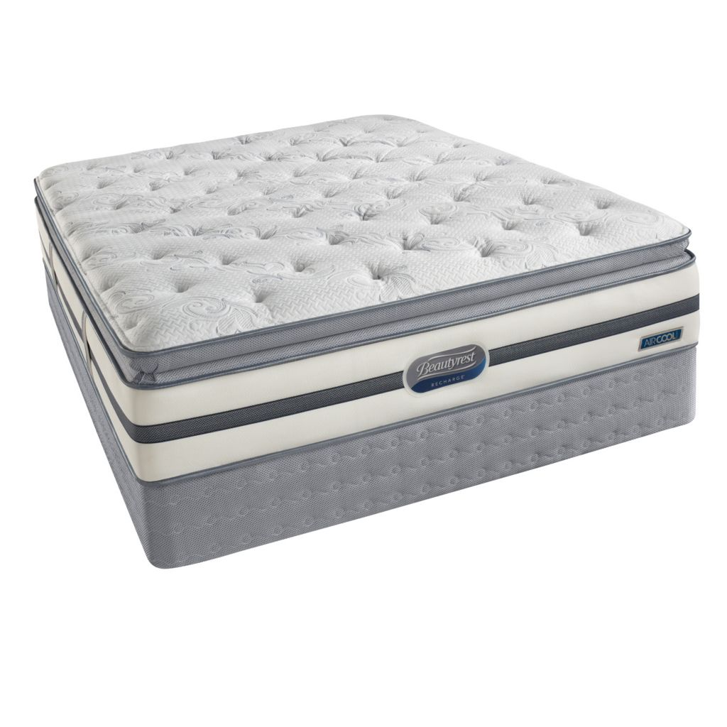 437-245 - Beautyrest® Recharge® Roxcove Plush Pillowtop Mattress Set