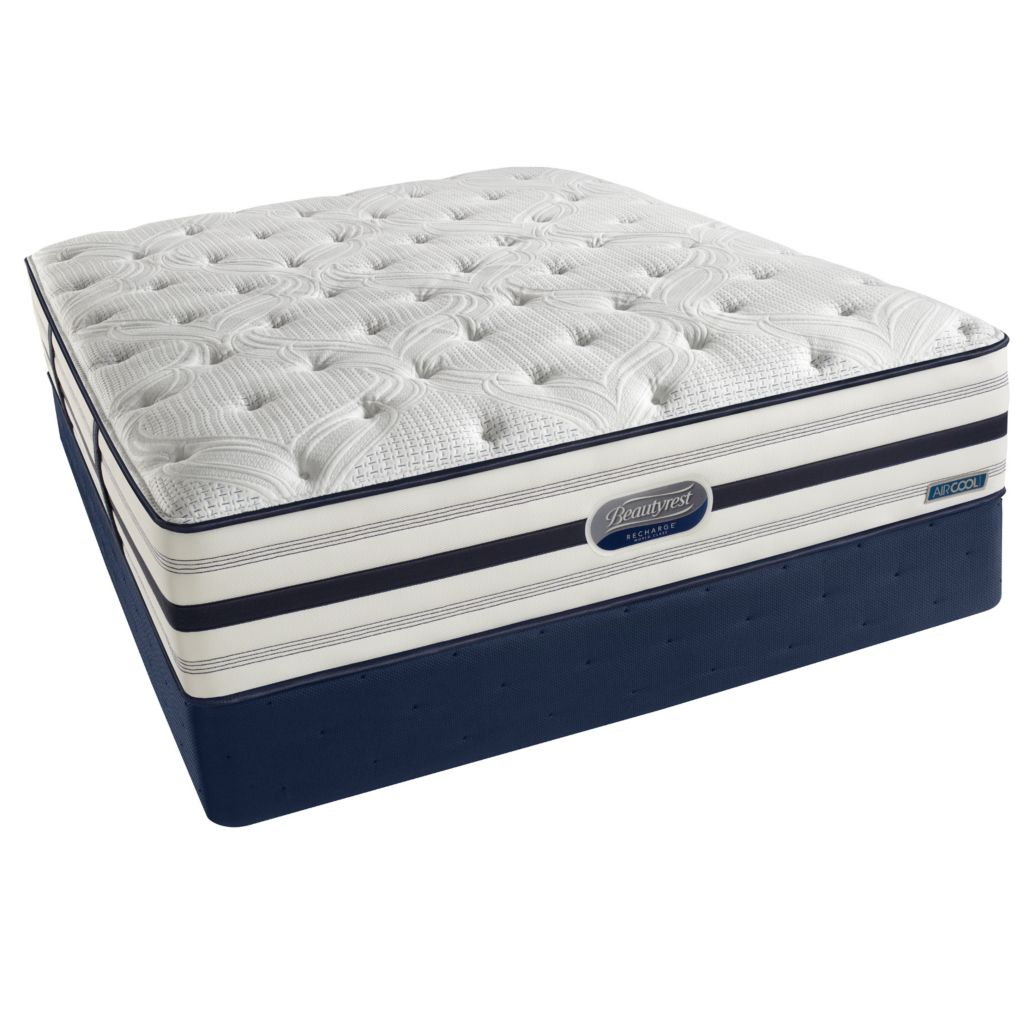 437-255 - Simmons® Beautyrest® Recharge™ World Class® Romeo Firm Mattress Set