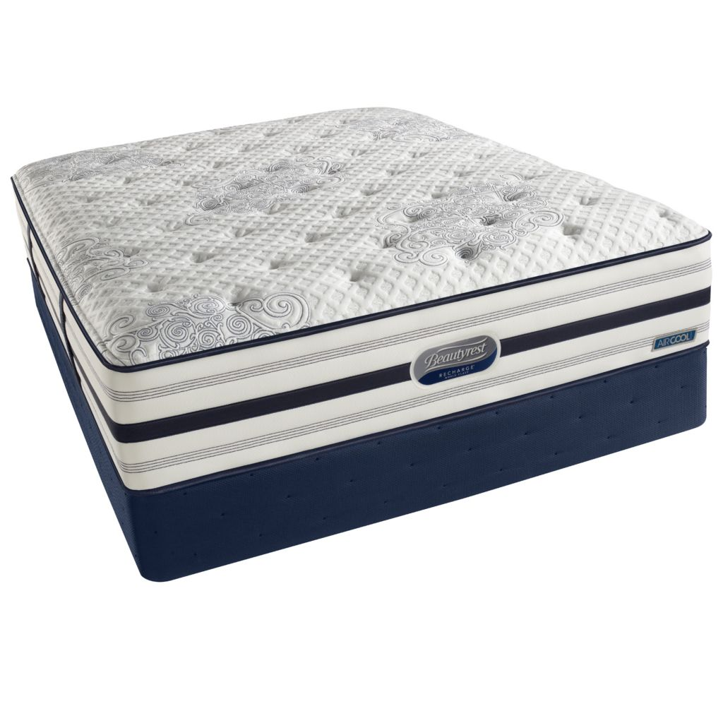 437-261 - Beautyrest® Recharge® World Class® Lady Rose Firm Mattress Set