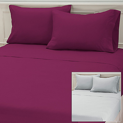 437-282 - Cozelle® Set of Two Microfiber Four-Piece Sheet Set