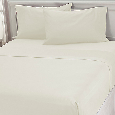 437-348 - 500TC Cotton / Poly Blend Easy Care Four-Piece Sheet Set