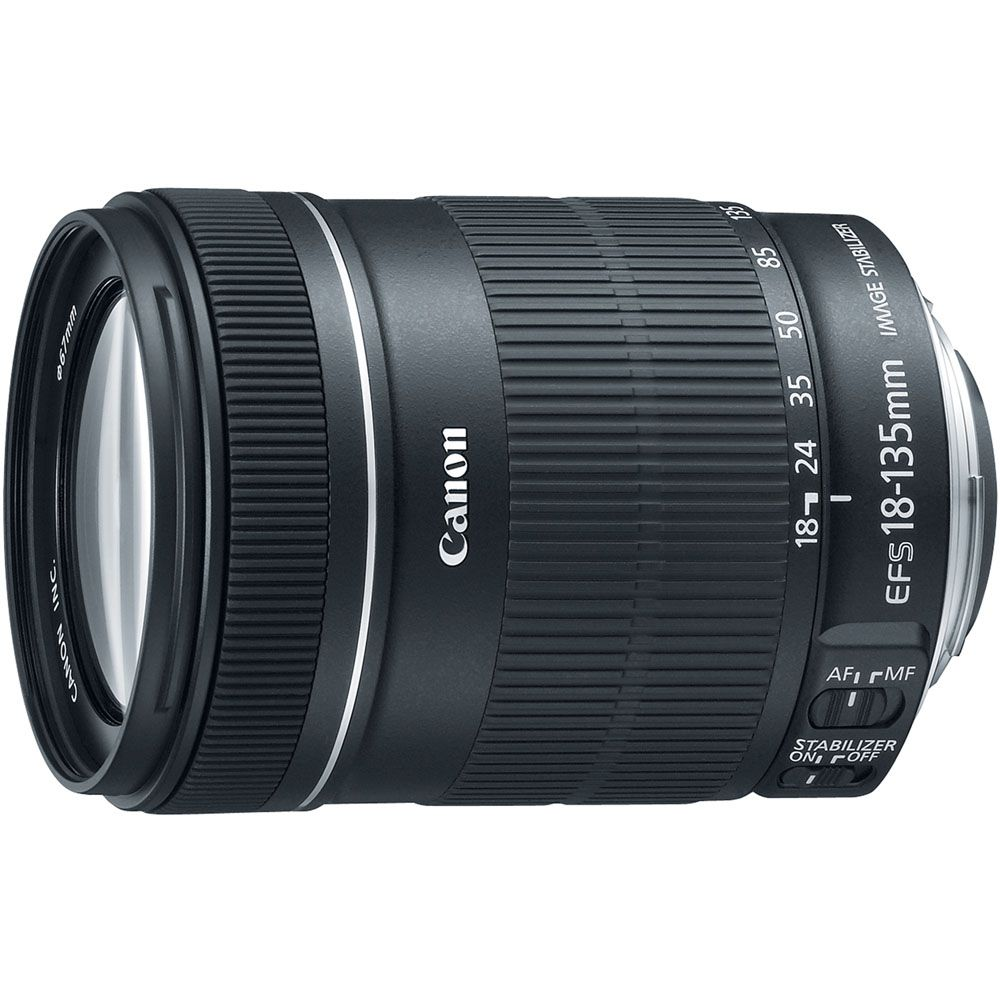 437-358 - Canon 6097B002 EF-S 18-135mm f/3.5 5.6 IS STM Standard Zoom Lens