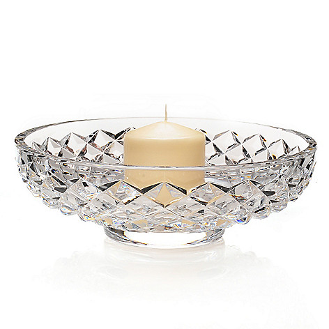 437-470 - Waterford® Illuminology Diama 11.5'' Crystal Candle Bowl w/ Candle