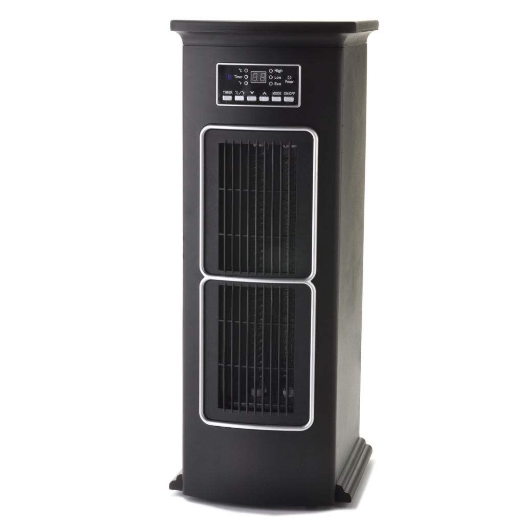 437-497 - LifeSmart 1500W Infrared Programmable & Portable Zone Tower Heater
