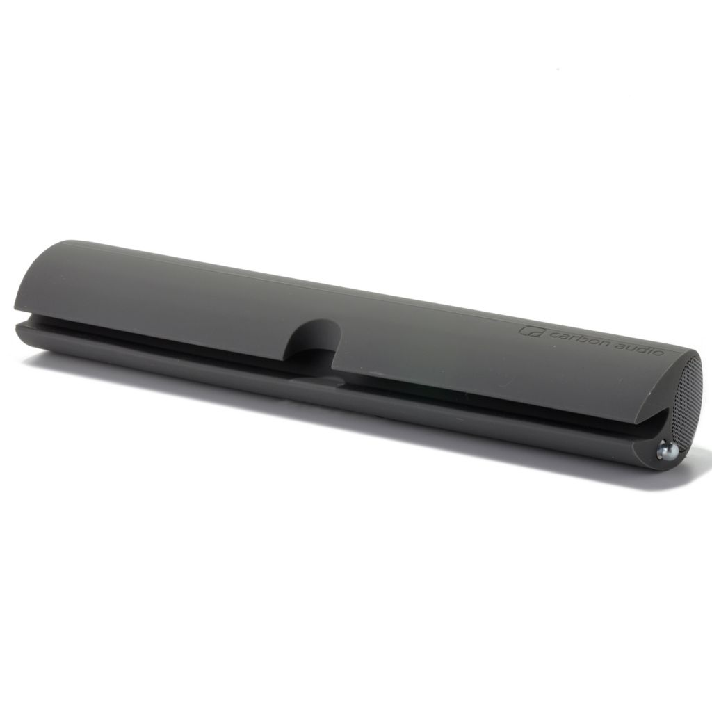 437-503 - Carbon Audio Zooka Wireless Speaker Bar for Bluetooth® Enabled Devices