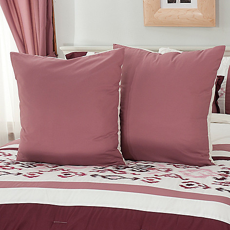 437-566 - North Shore Linens™ Diamond Pattern Euro Sham Pair
