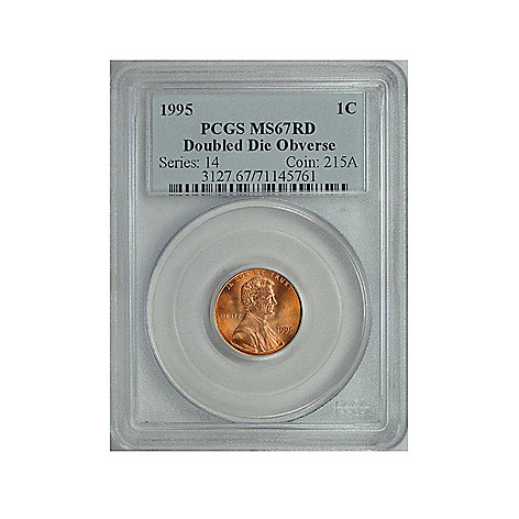 437-593 - 1995 Double Die Obverse Penny MS67 NGC or PCGS (P) Coin