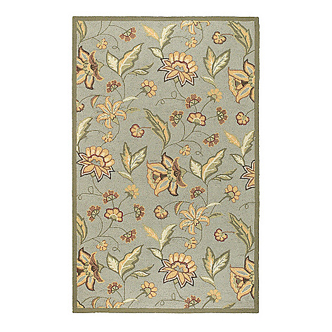 437-600 - All Season Rugs ''Eloise'' Hand-Hooked Stain/UV Resistant Indoor/Outdoor Rug