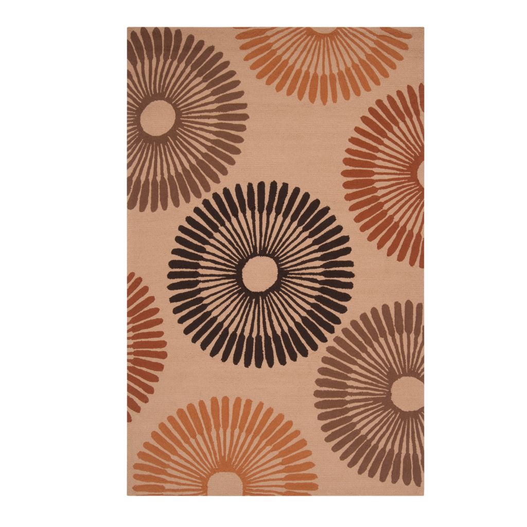 "437-603 - All Season Rugs ""Bianca"" Hand-Hooked Stain/UV Resistant Indoor/Outdoor Rug"