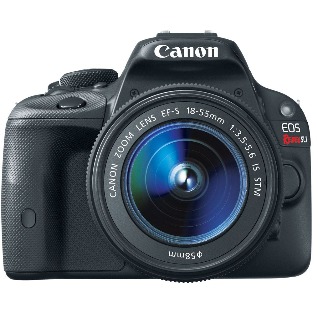 437-637 - Canon EOS Rebel SL1 Camera Body & EF-S 18-55mm Lens