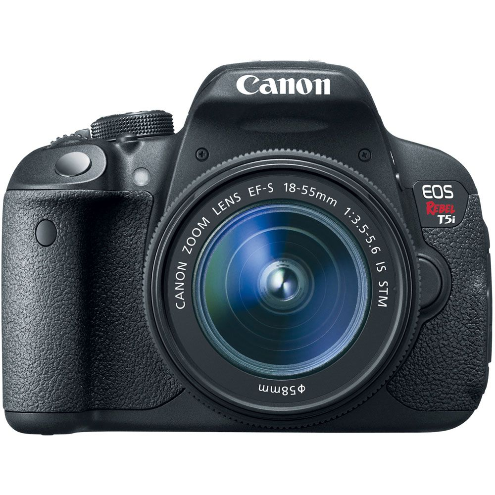437-639 - Canon EOS Rebel T5i 18MP SLR Camera & EF-S 18-55mm Lens