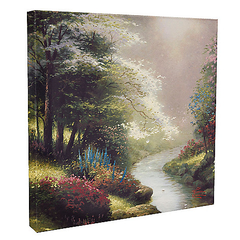 437-703 - Thomas Kinkade ''Petals of Hope'' 14'' x 14'' Gallery Wrap