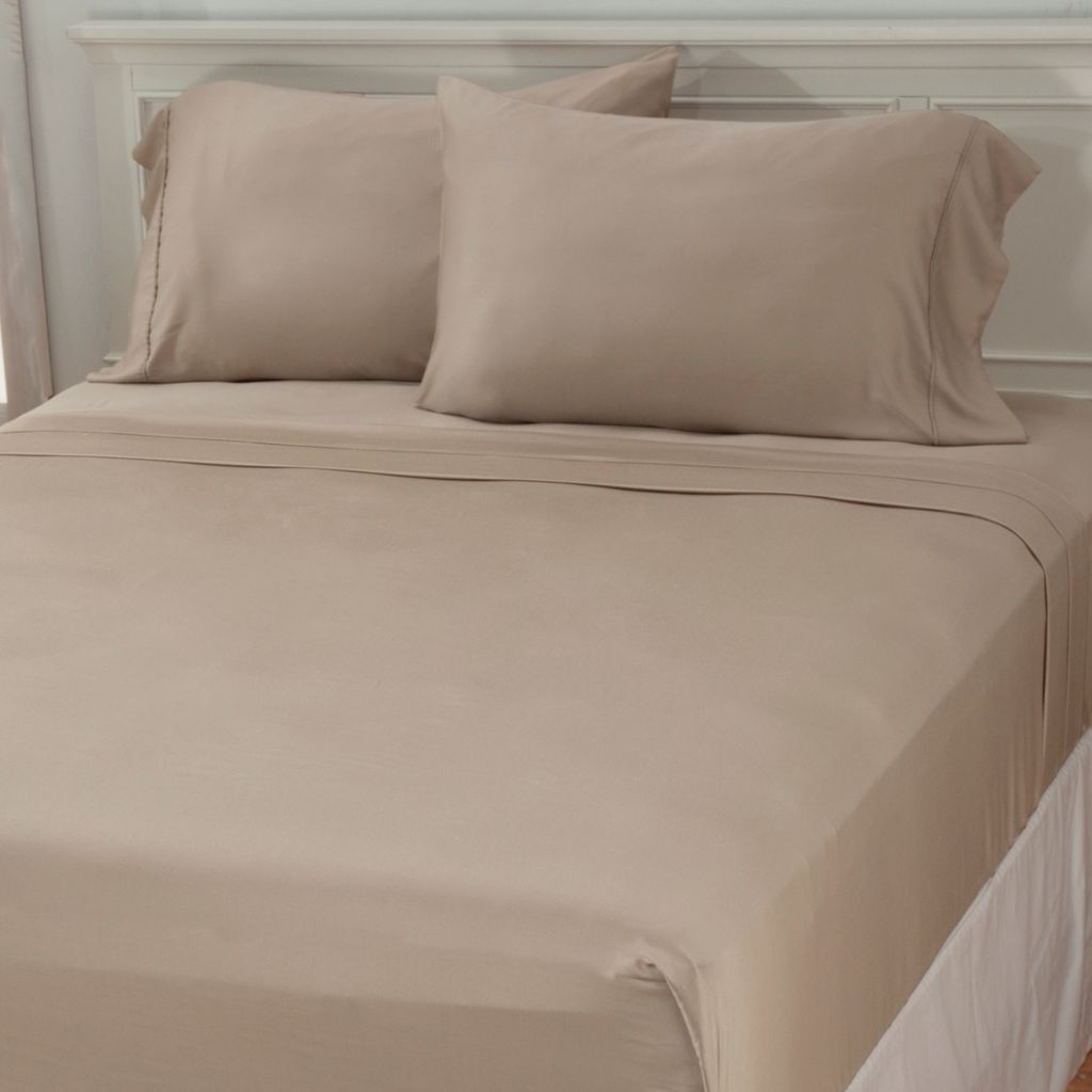 437-766 - Grand Suites® 300TC Modal Sateen Four-Piece Sheet Set