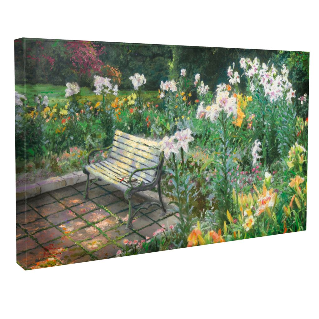 "437-807 - Thomas Kinkade ""Eternal Springtime"" 16"" x 31"" Gallery Wrap"