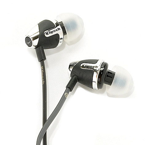437-843 - Klipsch Image S4i-II or S4a-II Noise Isolating In-Ear Headphones w/ In-Line Remote & Mic