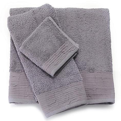 437-863 - Grand Suites® Turkish Cotton Pleated Three-Piece Towel Set
